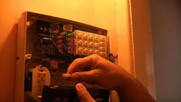 Home Alarm Battery | Access Control Bay Area
